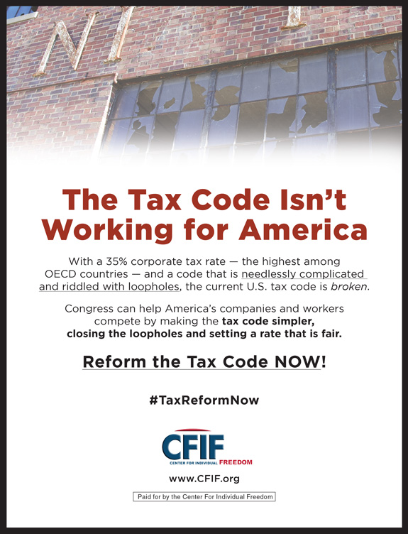 CFIF WS Tax Reform Ad 02-2017