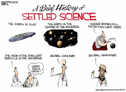 The History of Settled Science
