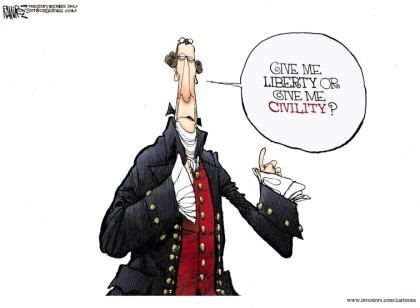 Give Me Liberty Or Give Me Civility?