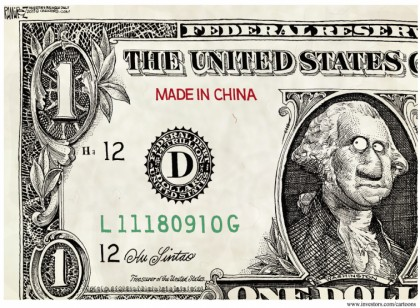 US Dollar: Made in China