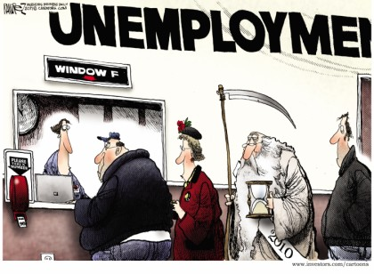 Unemployment Window