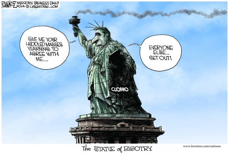 The New, New York or Just About Anywhere Liberals Exist