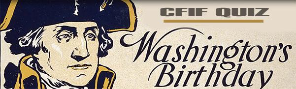 CFIF U.S. Presidents Quiz