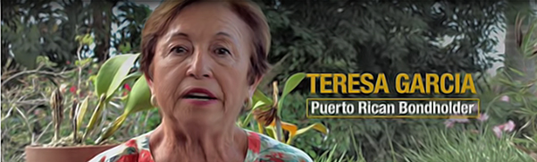 New Ad Features Puerto Rican Bondholder Calling on Congress to Protect Her Savings