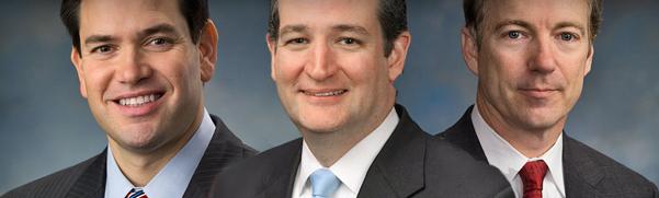 Three Senators, Three Challenges: Cruz, Paul, Rubio and the Road to the White House