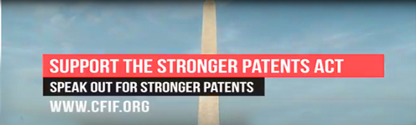 Video: Free Market and Conservative Groups Speak Out for STRONGER Patents