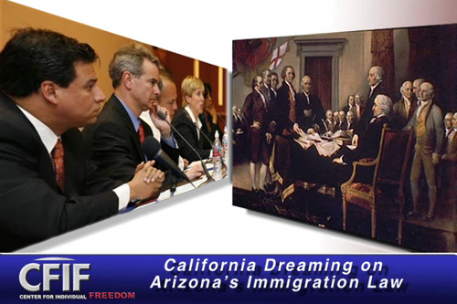 California Dreaming on Arizona's Immigration Law
