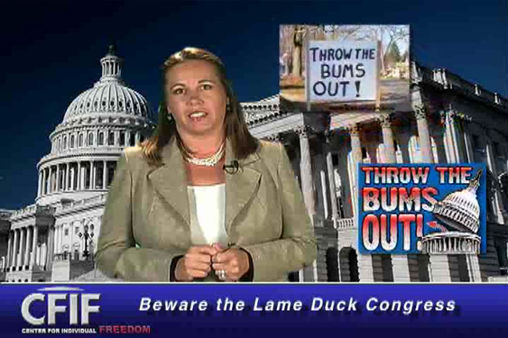 Beware the Lame Duck Session