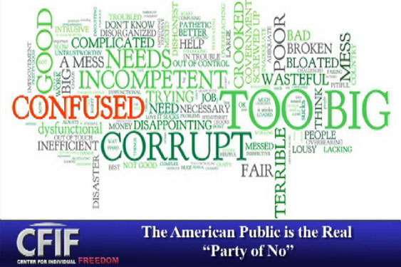 "The American Public is the Real ""Party of No"""