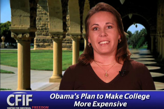 Obama's Plan to Make College More Expensive