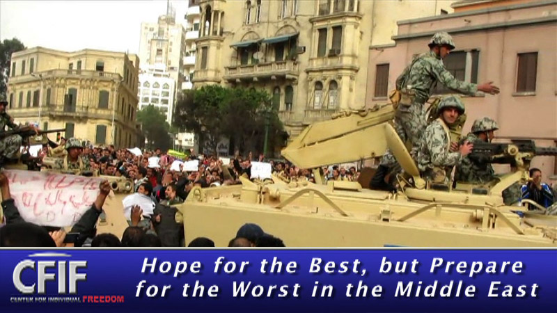 Hope for the Best, But Prepare for the Worst in the Middle East