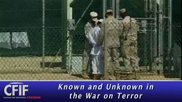 Known and Unknown in the War on Terror