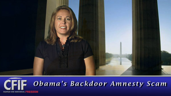 Obama's Backdoor Amnesty Scam