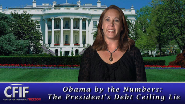 Obama by the Numbers: The President's Debt Ceiling Lie