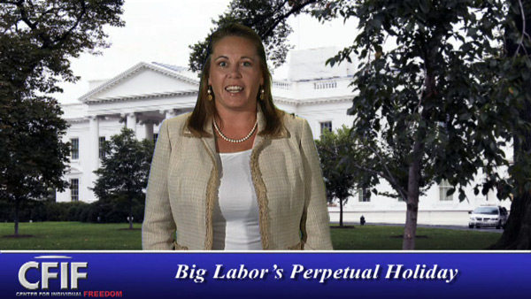 Big Labor Takes a Holiday ... from Reality