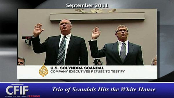 Trio of Scandals Hits the White House