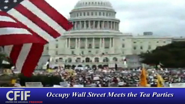 Occupy Wall Street Meets the Tea Parties