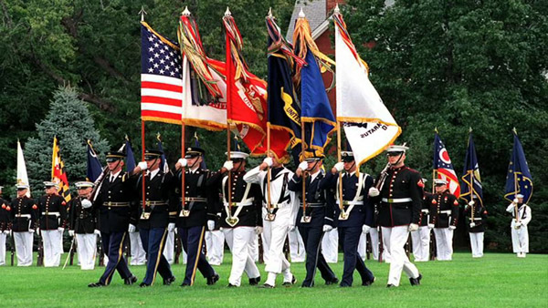 Honoring the U.S. Armed Forces
