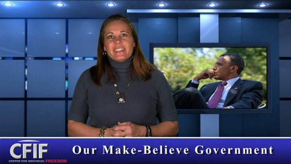 Our Make-Believe Government