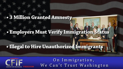 On Immigration, We Can't Trust Washington
