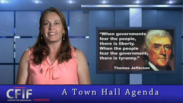 A Town Hall Agenda