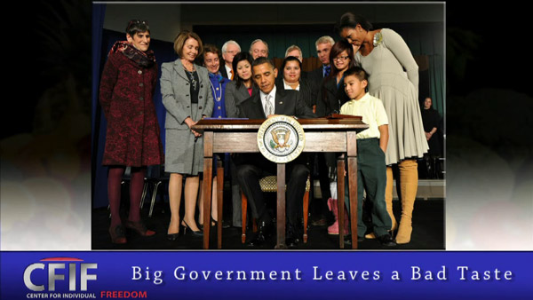 Big Government Leaves a Bad Taste