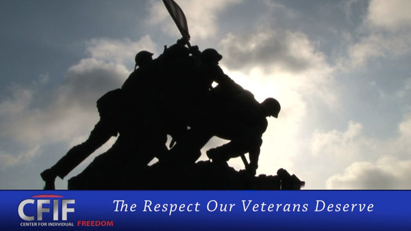 The Respect Our Veterans Deserve