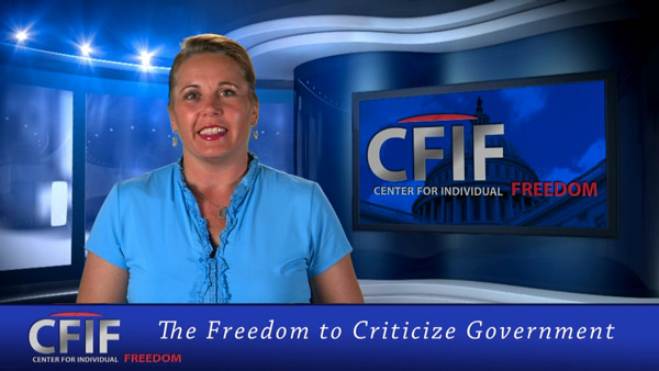 The Freedom to Criticize Government