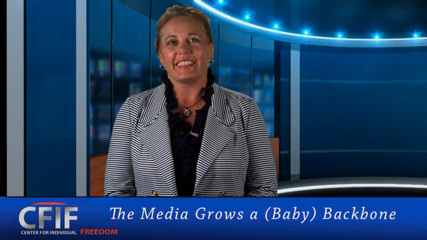 The Media Grows a (Baby) Backbone