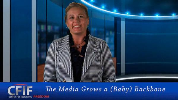 The Media Grows a (Baby) Backbone
