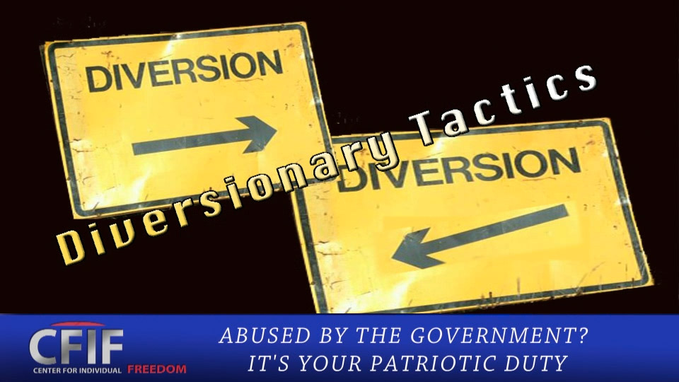 Abused By The Government? It's Your Patriotic Duty.