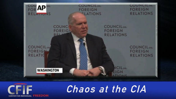 Chaos at the CIA