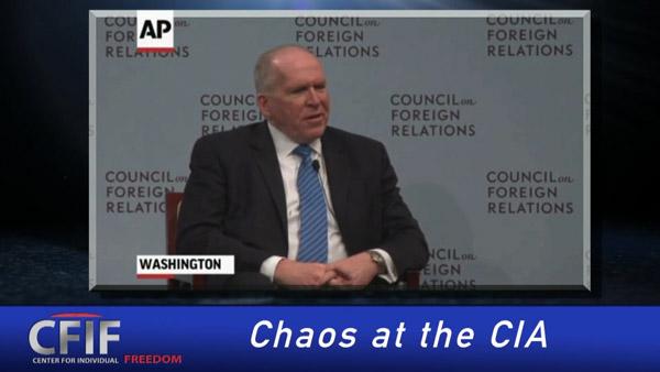 Chaos at the CIA