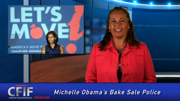 Michelle Obama's Bake Sale Police