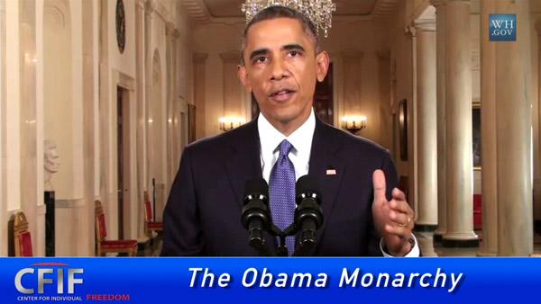 The Obama Monarchy