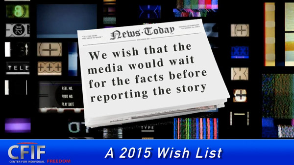 A 2015 Wish List