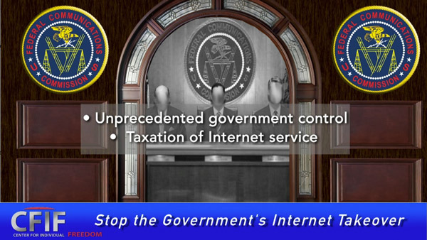 Stop the Government's Internet Takeover