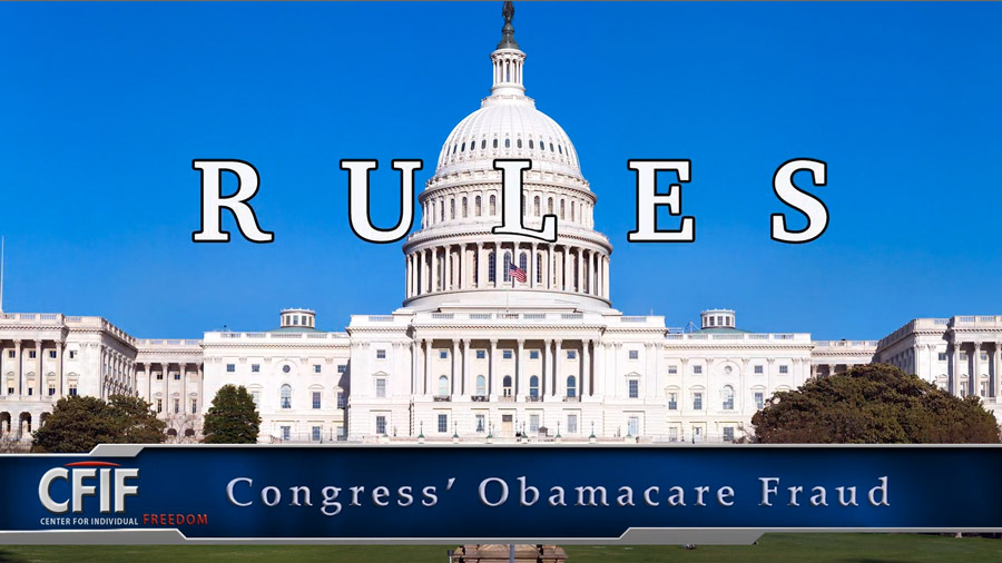 Congress' ObamaCare Fraud