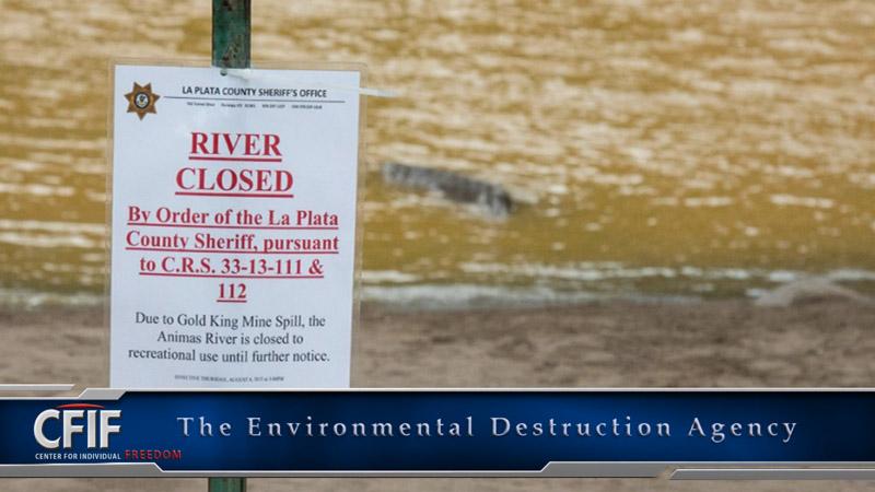 The Environmental Destruction Agency
