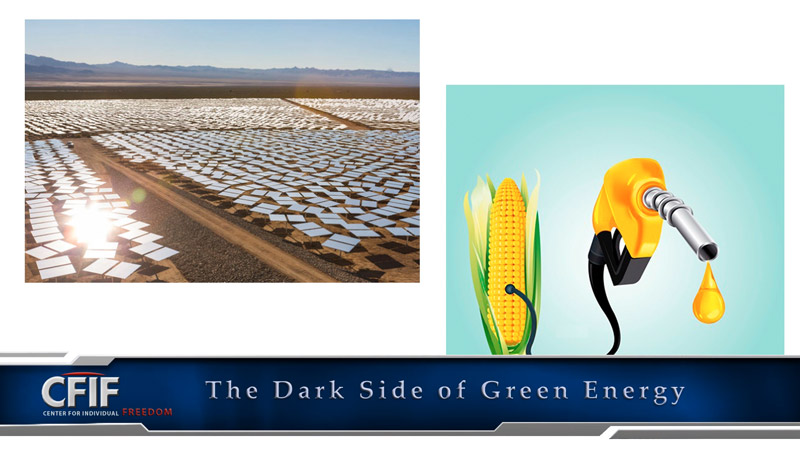 The Dark Side of Green Energy